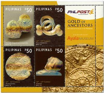 n° 370 - Timbre PHILIPPINES Blocs et feuillets