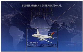 n° 153 - Timbre AFRIQUE DU SUD Blocs et feuillets