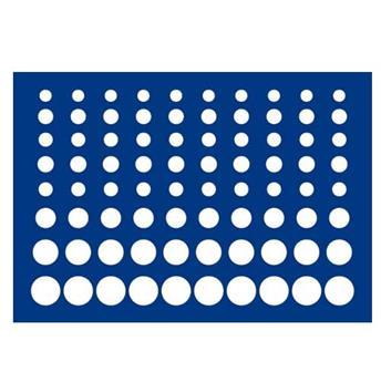 """PLATEAU """"MALETTE DIAMANT"""" (80 CASES RONDES) - SAFE®"""