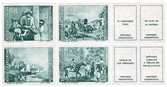 n°725/728** - Timbre ARGENTINE Poste