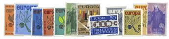 Europa : Année complète Europa 1965 neuf**
