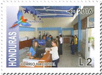 n° 1415/1420 - Timbre HONDURAS Poste aérienne