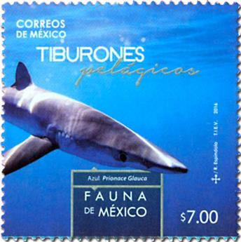 n° 3011/3014 - Timbre MEXIQUE Poste