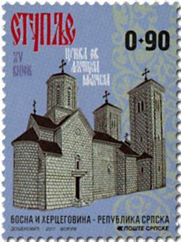n° 654/657 - Timbre REPUBLIQUE SERBE (DE BOSNIE) Poste