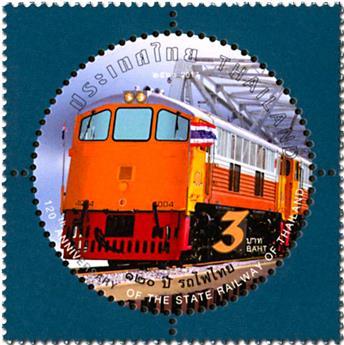 n° 3387/3390 - Timbre THAILANDE Poste