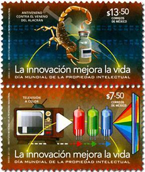n° 3036/3037 - Timbre MEXIQUE Poste