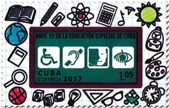 n° 5537 - Timbre CUBA Poste
