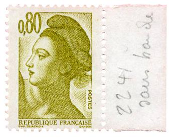n°2241b** - Timbre FRANCE Poste