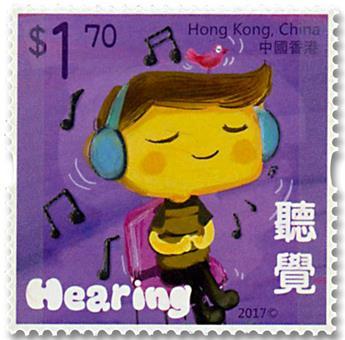 n° 1910/1914 - Timbre HONG KONG Poste