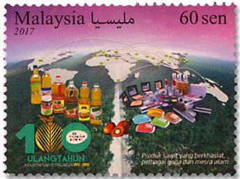 n° 1898/1900 - Timbre MALAYSIA Poste