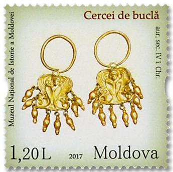 n° 866/869 - Timbre MOLDAVIE Poste