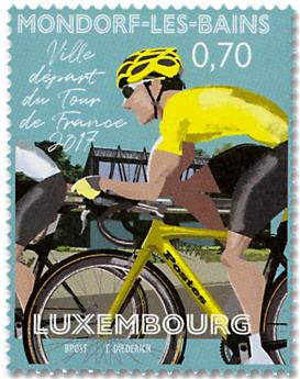 n° 2077 - Timbre LUXEMBOURG Poste