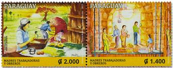 n° 3249/3250 - Timbre PARAGUAY Poste