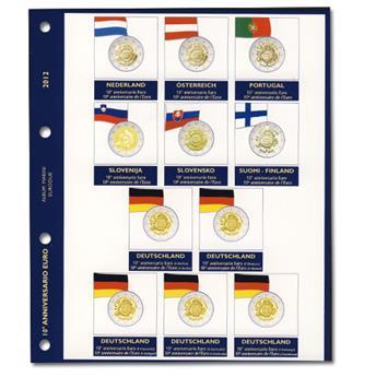 Recharges 2 EUROS commémoratifs 2012 - MARINI® (10 ans de l´Euro)
