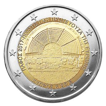 2 EURO COMMEMORATIVE 2017 : CHYPRE (PAPHOS CAPITALE DE LA CULTURE)