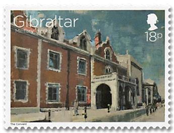 n° 1806 - 1807/1814 - Timbre GIBRALTAR Poste
