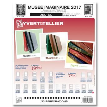 MUSEE IMAGINAIRE SC : 2017 (Jeu avec pochettes)