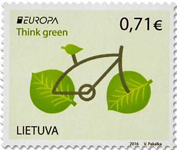 n° 1064/1065 - Timbre LITUANIE Poste (EUROPA )