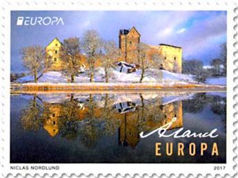 n° 438 - Timbre ALAND Poste (EUROPA)