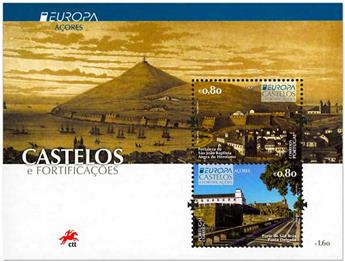 n° F612 - Timbre ACORES Poste (EUROPA )