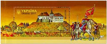 n° 132/133 - Timbre UKRAINE Blocs et feuillets (EUROPA)