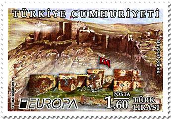 n° 3833/3834 - Timbre TURQUIE Poste (EUROPA)