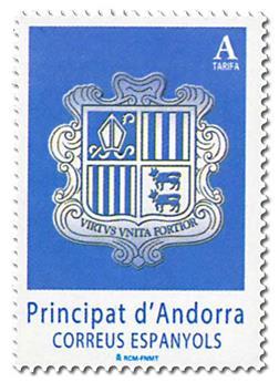 n° 437 - Timbre ANDORRE ESPAGNOL Poste