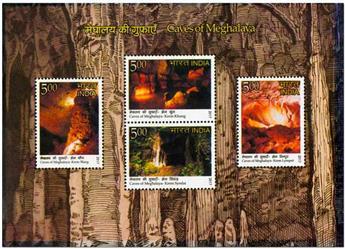 n° 153 - Timbre INDE Blocs et feuillets