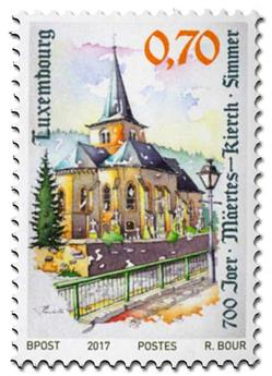 n° 2081 - Timbre LUXEMBOURG Poste
