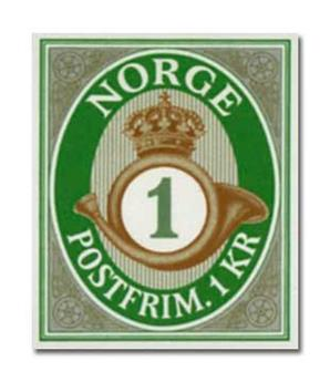 n° 1814Aa - Timbre NORVEGE Poste