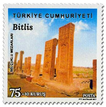 n° 3844/3846 - Timbre TURQUIE Poste