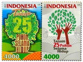 n° 2854/2855 - Timbre INDONESIE Poste