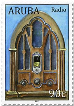 n°977 - Timbre ARUBA Poste