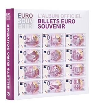 """Album imprimé pour billets """"EURO SOUVENIR"""" Tome 3 LEUCHTTURM"""