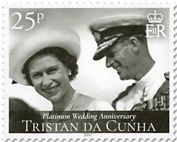 n° 1184/1187 - Timbre TRISTAN DA CUNHA Poste