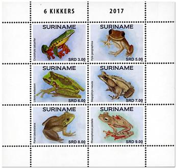 n° 2716/2721 - Timbre SURINAME Poste