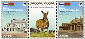 n° 2851/2852 - Timbre URUGUAY Poste