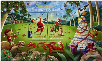 n° 56 - Timbre CHRISTMAS (ILE) Blocs et feuillets