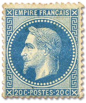 n°29B(*) - Timbre FRANCE Poste
