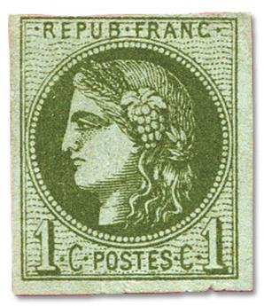 n°39B(*) - Timbre FRANCE Poste