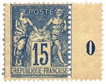 n°101** - Timbre FRANCE Poste