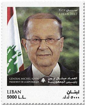 n° 583/585 - Timbre LIBAN Poste