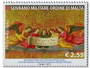 n° 1411/1412 - Timbre ORDRE de MALTE Poste