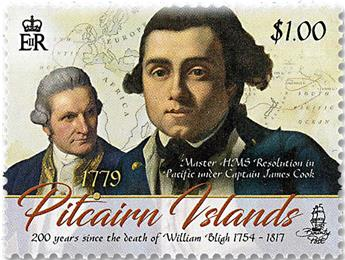 n° 915/918 - Timbre PITCAIRN Poste