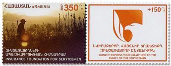 n° 886 - Timbre ARMENIE Poste