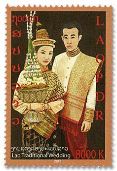 n° 1885/1888 - Timbre LAOS Poste