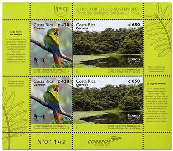 n° 984/985 - Timbre COSTA RICA Poste