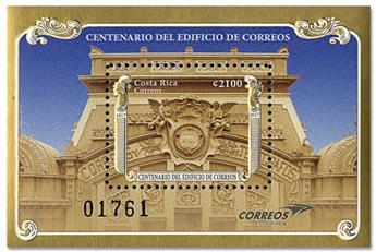 n° 61 - Timbre COSTA RICA Blocs et feuillets