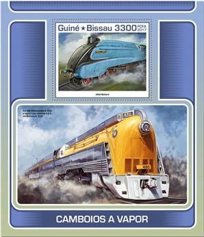 n° 1343 - Timbre GUINÉE-BISSAU Blocs et feuillets