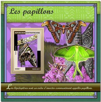 n° 1139 - Timbre CENTRAFRICAINE Blocs et feuillets